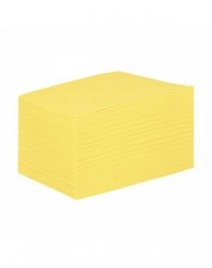 Простыня IGRObeauty, SMS, жёлтая, 90x200 см, 18 г/м2, 50 шт