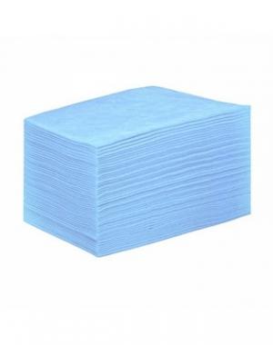 Простыня IGRObeauty, SMS, голубая, 80x200 см, 18 г/м2, 50 шт