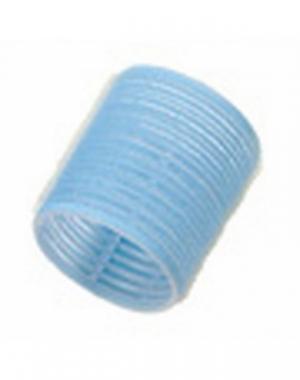 Бигуди-липучки Comair Jumbo, длина 60 мм, диаметр 56 мм, голубые, 6 шт