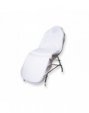 Чехол IGRObeauty, многоразовый, белый, ПВХ, 210х90х25 см