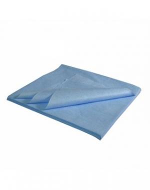 Салфетка спанлейс кросс IGRObeauty, голубая, 50 г/м2, 30x30 см, 100 шт