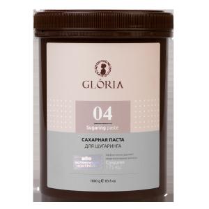 Сахарная паста для шугаринга Gloria «Средняя», 1800 гр