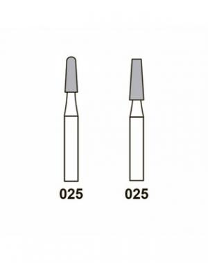 Диамантовая фреза Busch, средний абразив, форма 855, размер 025