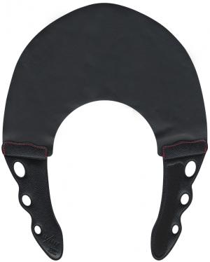 Парикмахерский многоразовый воротник для стрижки и окрашивания Y.S.Park 0.3 мм черный с черным