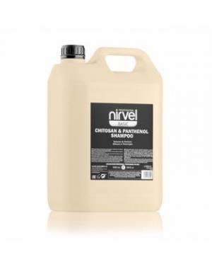 Шампунь для объема волос с хитозаном и пантенолом Nirvel Professional Shampoo Volume & Texture Chitosan & Panthenol, 5000 мл