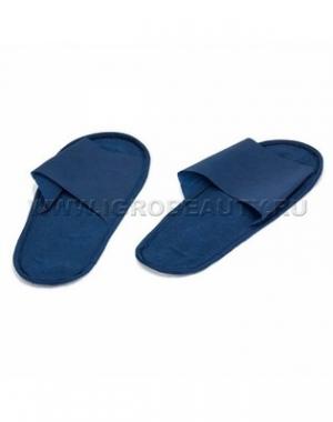 Тапочки на жёсткой подошве IGRObeauty, ЭВА, синие, размер 39, 1 пара