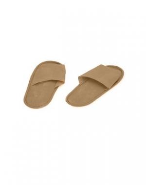 Тапочки на жёсткой подошве IGRObeauty, ЭВА, бежевые, размер 39, 1 пара