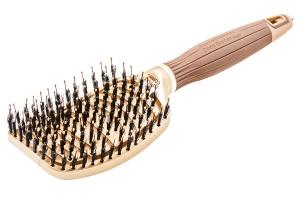 Щетка для волос Ceramic+Ion Nano Thermic Flex Combo OLIVIA GARDEN