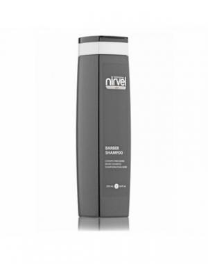 Шампунь для бороды и усов Nirvel Professional Barber Shampoo, прозрачный, 250 мл