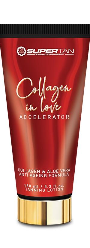 Лосьон активный ускоритель загара с коллагеном Supertan Collagen in Love, 150 мл.