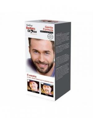 Набор для камуфляжа бороды Godefroy Barbers Choice Medium-Light Brown, краска в капсулах, цвет светло - коричневый