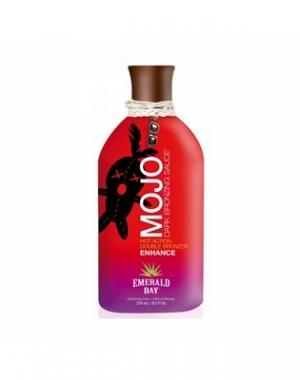 Крем для загара Emerald Bay Mojo Dark Bronzing Sauce, острая клубника, 250 мл