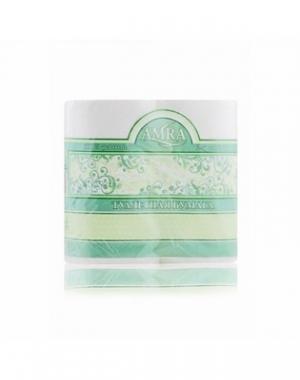 Туалетная бумага Amra, двухслойная, белая, 4 рулона