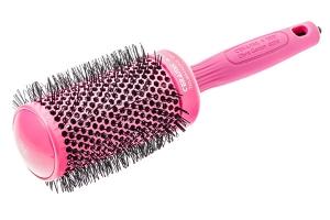 Брашинг для укладки волос Ceramic+Ion розовый CI-55 OLIVIA GARDEN
