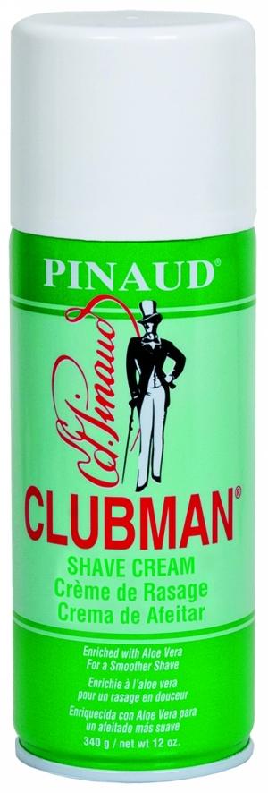 Классическая пена для бритья с алоэ вера Clubman Shave Cream, 340 г