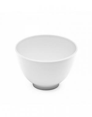 Мисочка пластиковая IGRObeauty, белая, диаметр 10,5 см, высота 7 см