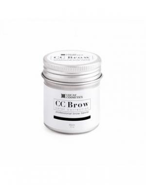 Хна для бровей CC Brow Black в баночке, чёрная, 10 гр