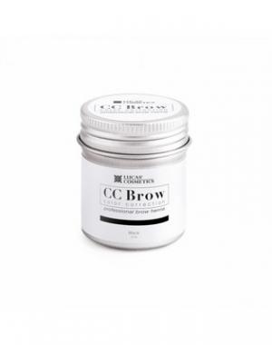 Хна для бровей CC Brow Black в баночке, чёрная, 5 гр