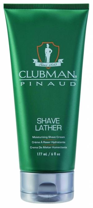 Увлажняющая крем-пена для бритья Clubman Shave Lathe, 177 мл