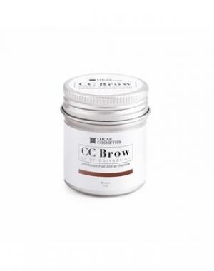Хна для бровей CC Brow Brown в баночке, коричневая, 5 гр