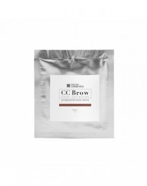 Хна для бровей CC Brow Brown в cаше, коричневая, 5 гр