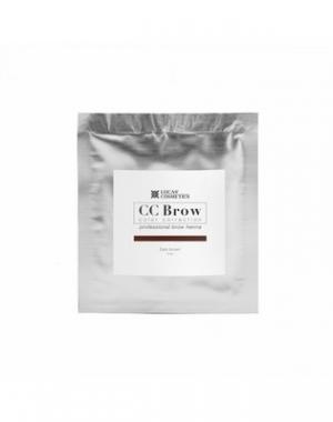 Хна для бровей CC Brow Dark Brown в cаше, тёмно - коричневая, 5 гр