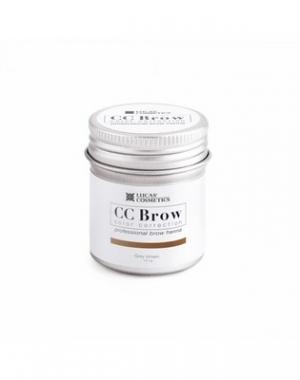 Хна для бровей CC Brow Grey Brown в баночке, серо - коричневая, 10 гр