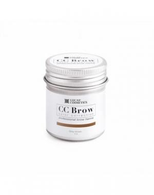 Хна для бровей CC Brow Grey Brown в баночке, серо - коричневая, 5 гр