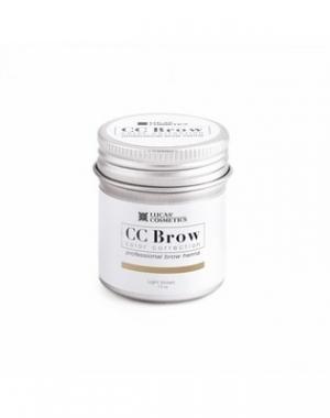 Хна для бровей CC Brow Light Brown в баночке, cветло - коричневая, 10 гр