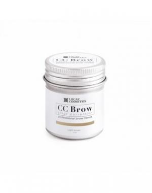Хна для бровей CC Brow Light Brown в баночке, cветло - коричневая, 5 гр
