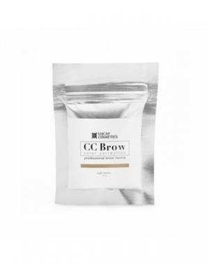 Хна для бровей CC Brow Light Brown в саше, cветло - коричневая, 10 гр