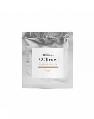 Хна для бровей CC Brow Light Brown в саше, cветло - коричневая, 5 гр