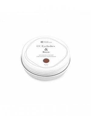 Хна для окрашивания ресниц и бровей CC Eyelashes & Brow в баночке, коричневая, 10 гр