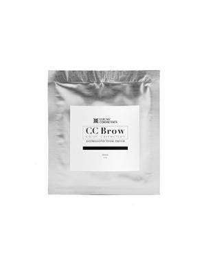 Хна для бровей CC Brow Black в cаше, чёрная, 5 гр