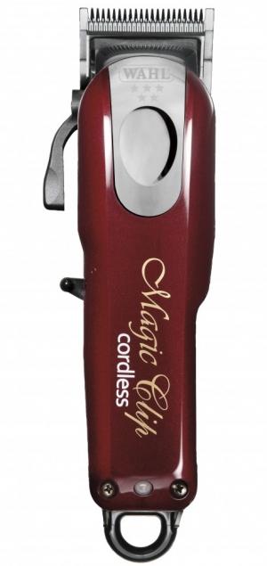 Машинка для стрижки с комбинированным питанием (аккумулятор/сетевое) Wahl Magic Clip Cordless 5star red