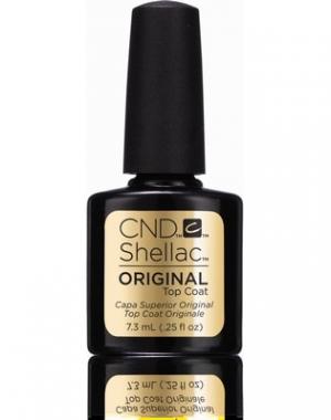 Верхнее покрытие CND Shellac UV Original Top Coat, 7,3 мл