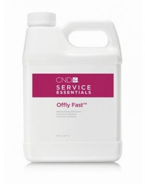 Препарат для удаления искусственных покрытий CND Offly Fast, 946 мл