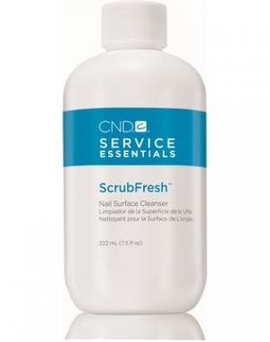 Лосьон очищающий для ногтей CND Scrub Fresh, 222 мл
