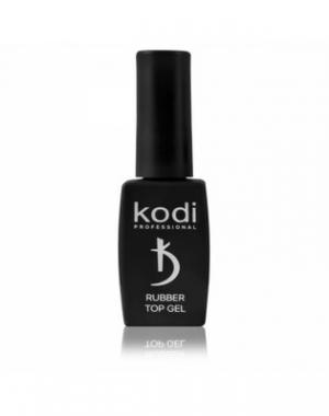 Каучуковое верхнее покрытие/топ/финиш для гель лака Kodi Rubber Top, 12 мл
