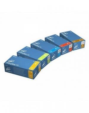 Перчатки латаксные опудренные Archdale Mini-MAX, 3.5 гр, размер L, 100 шт