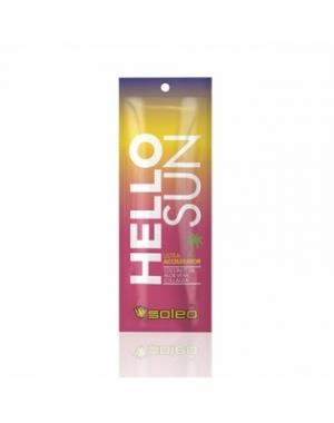 Крем ультра - ускоритель для загара с маслом какао Soleo Hello Sun, 15 мл