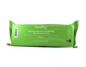 Полоски для депиляции Depilflax100, 7.5 х 23 см, Белые, 100 шт/уп