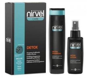 Набор DETOX PACK/ NIRVEL лосьон против себореи (перхоти) и раздраженной кожи головы  150 мл; шампунь 250 мл, сыворотка 100 мл