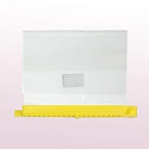 Заколки для мелирования Comair, желтые, размер 13 см, 20 штук