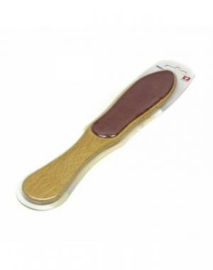 Пилка для ног натуральная Interped, коричневый абразив