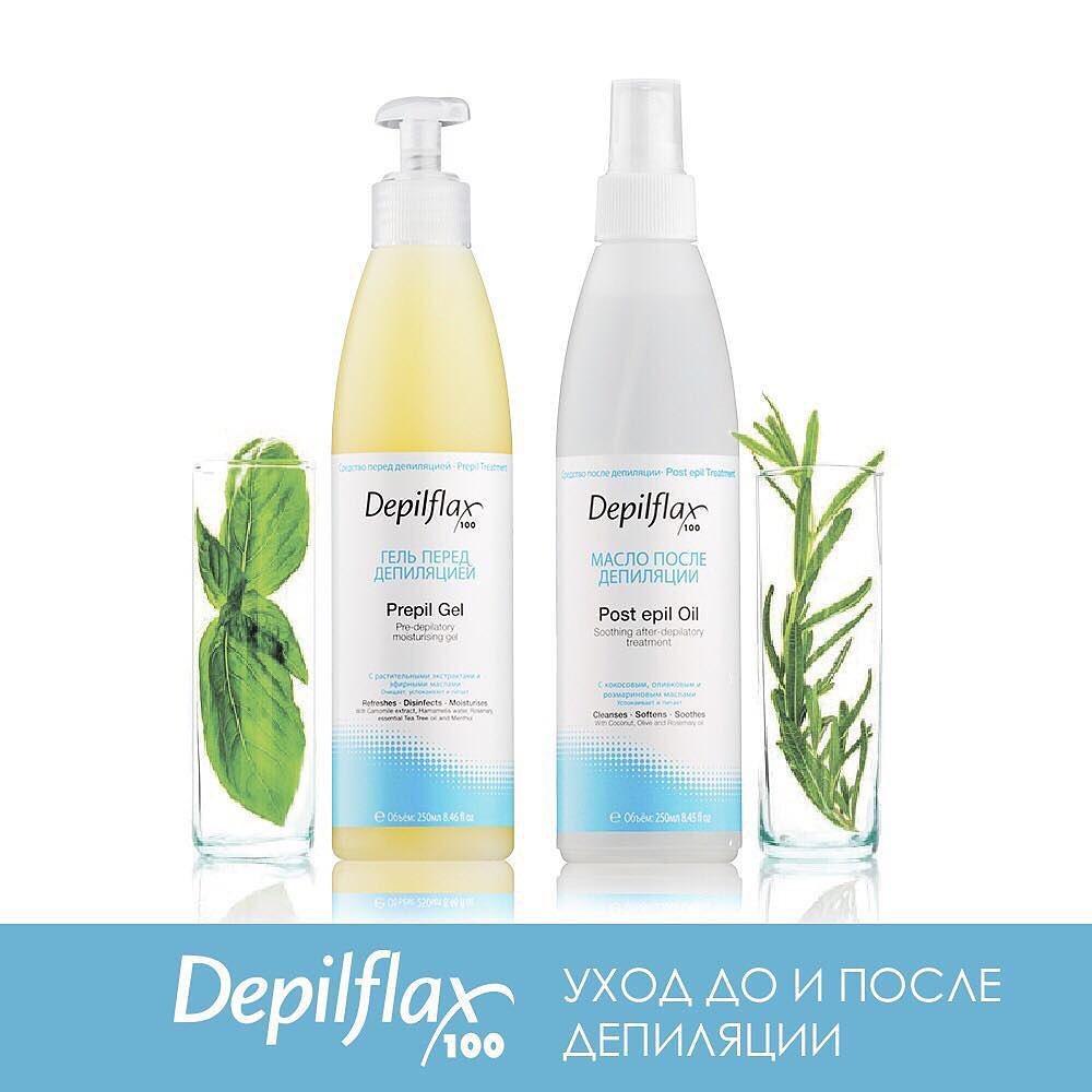 Уход после депиляции Depilflax